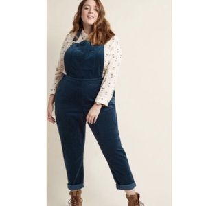 Modcloth Fall Potluck Overalls in Color: Dusk
